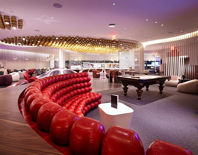 Luxury airport lounges