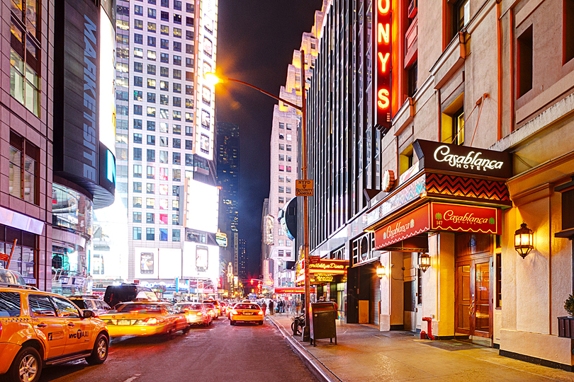Step back in time at the Casablanca Hotel Times Square