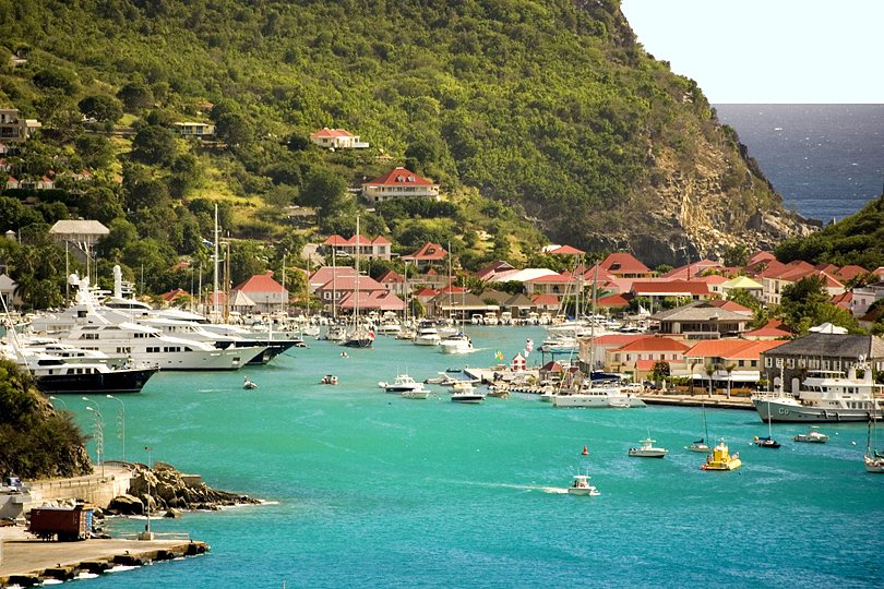 Exploring the Caribbean's Leeward Islands on a super yacht charter