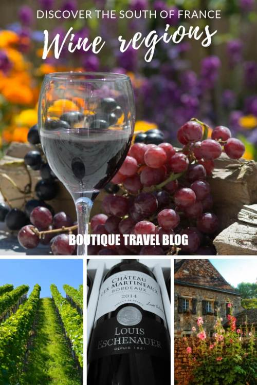 Discover the south of France wine regions