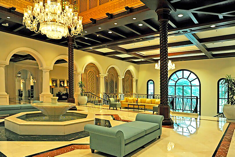 Ritz Carlton Dubai JBR, entrance lobby