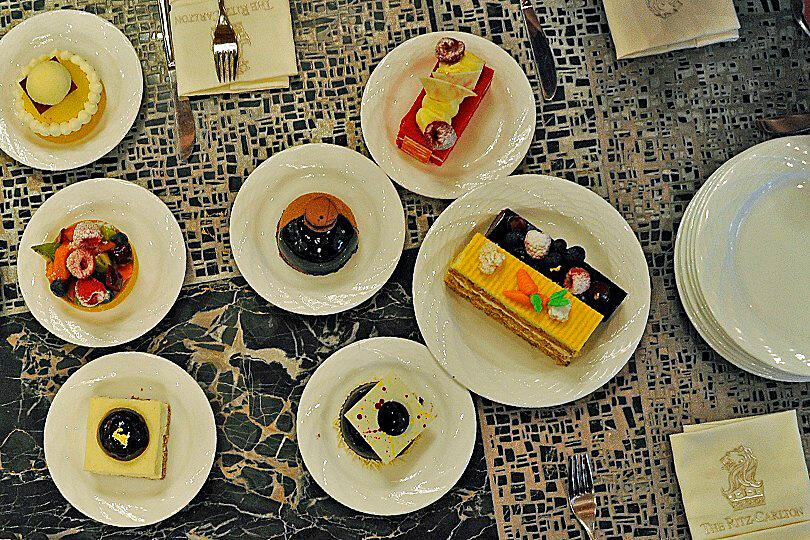 Ritz Carlton Dubai JBR, cakes and pastries
