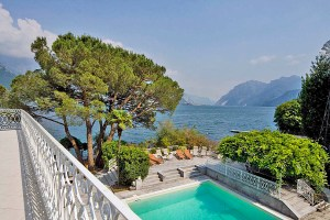 Dama Lago pool, Lake Como, Italy