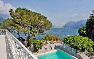 Beautiful holiday villa on the shores of Lake Como