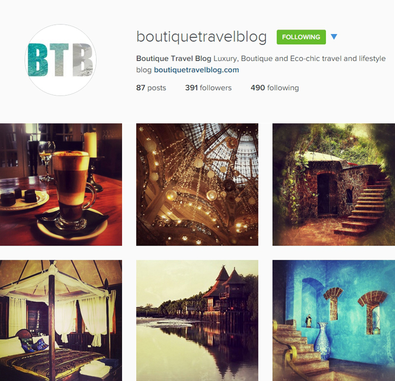 Booutique Travel Blog on Instagram