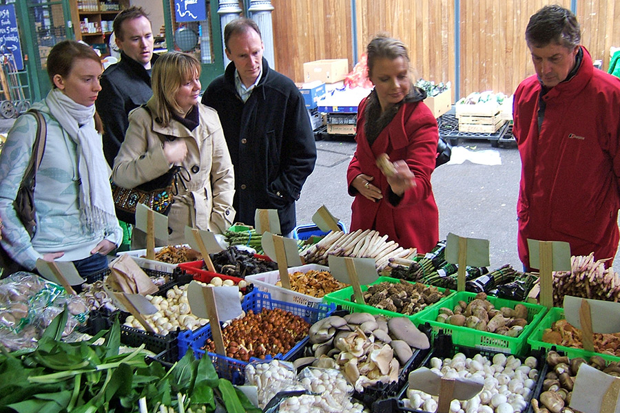 Borough market food tour