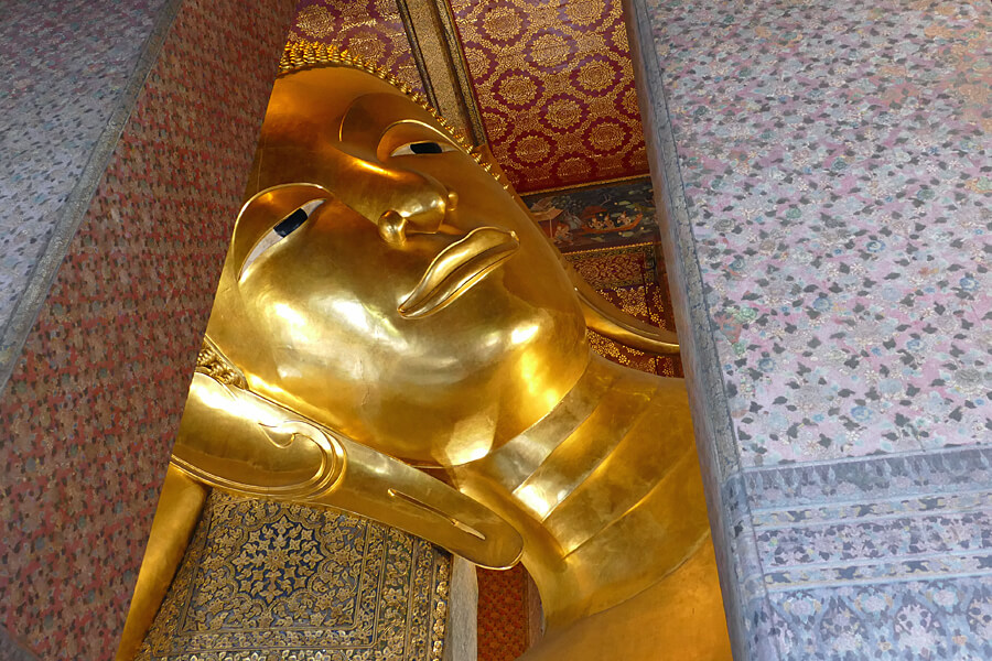 Wat Pho, Temple of Reclining Buddha, Bangkok