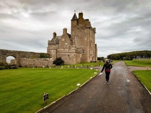 Ackergill Tower, a historic hotel in Scotland