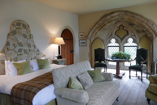 quirky hotels in the UK | Amberley Castle, Amberley, West Sussex, England