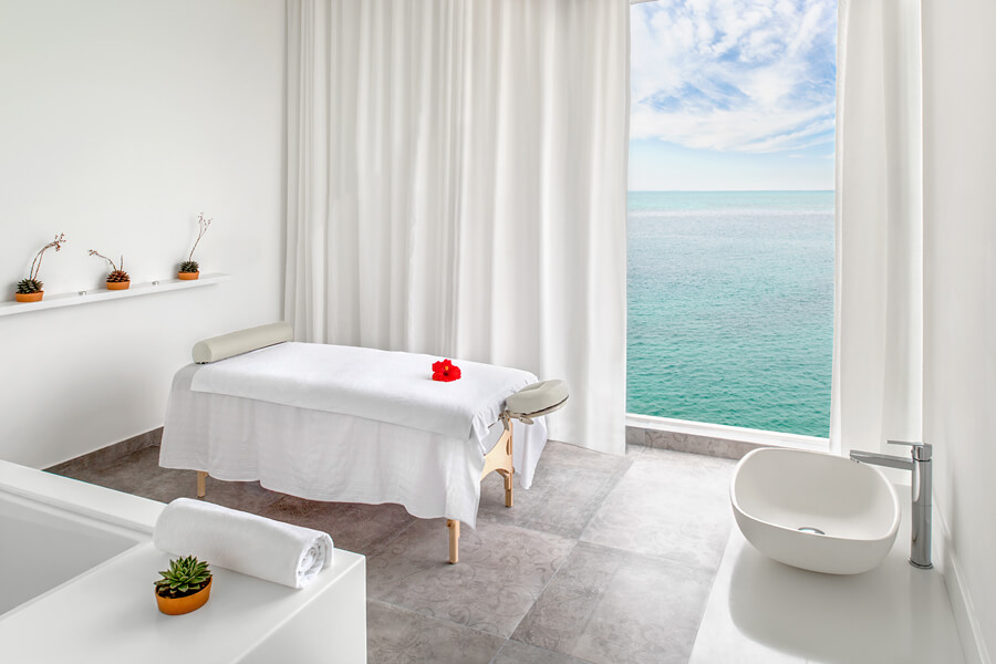 Spa at Room view at Zaya Nurai Island, Abu Dhabi, UAE