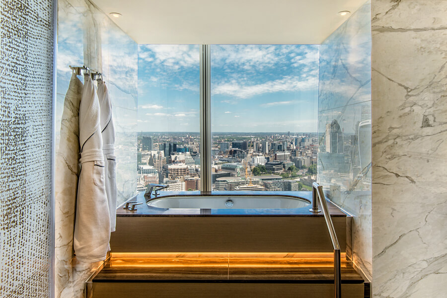 Shangri-La Hotel, At The Shard, London Suite 1
