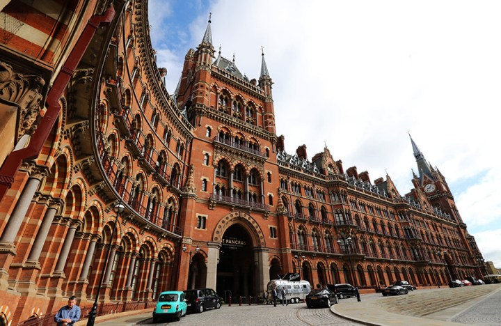 quirky hotels in the UK | St. Pancras Renaissance Hotel, London
