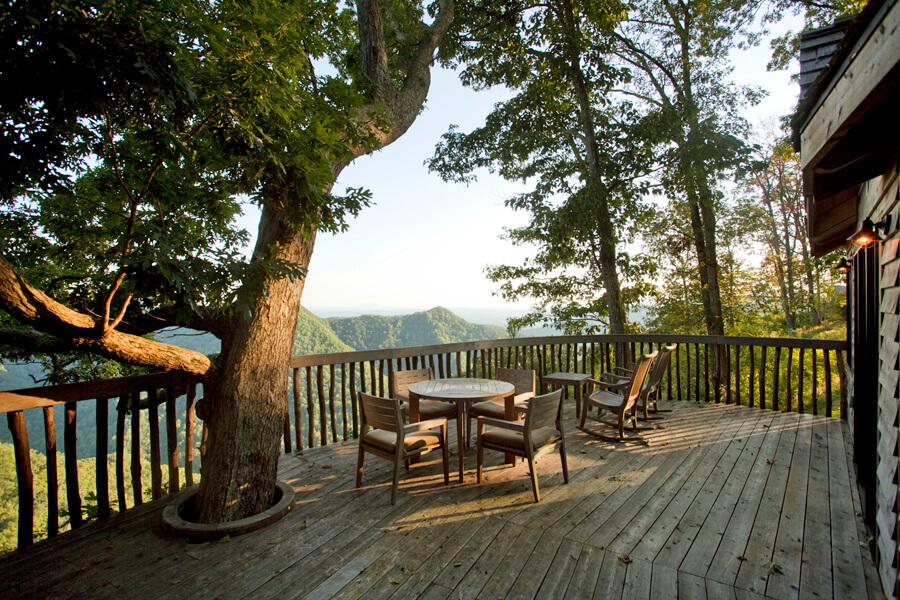 Primland Treehouse, Blue Ridge Mountains, USA