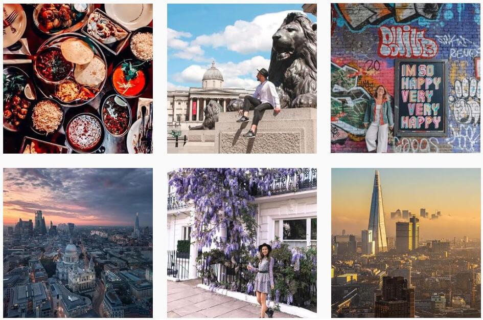 Uk travel influencers n Instagram | London Dreamings