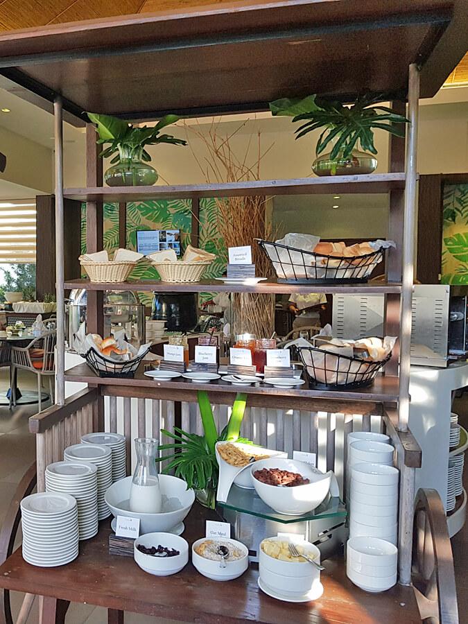 Bacau Bay Resort Coron Philippines - breakfast
