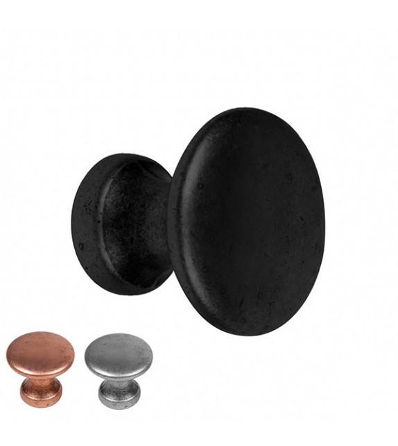 bouton de meuble noir pour tiroir et