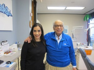 Dr. Audrey Boutros and Dad, Dr. Peter Boutros
