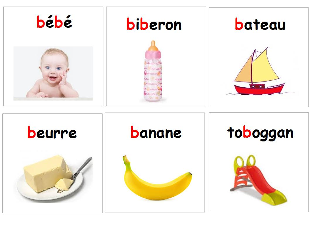 Montessori  Le langage  Bouts dchoux et boutons droses
