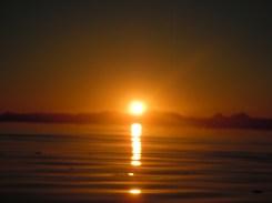 Sunrise across the Sea of Cortez