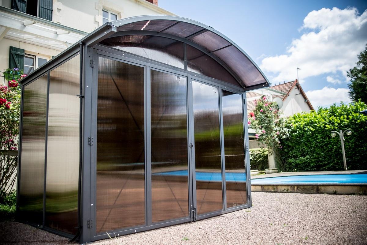 Porte De Jardin En Aluminium | Bordure Aluminium Jardin Leroy Merlin ...