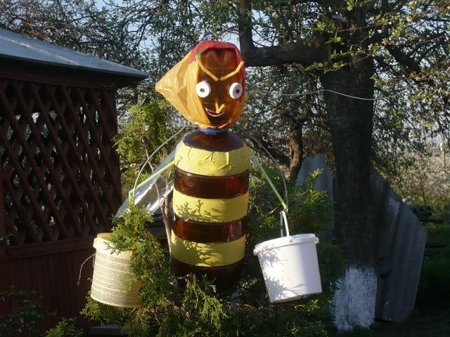 пчелы поделка для сада будет
