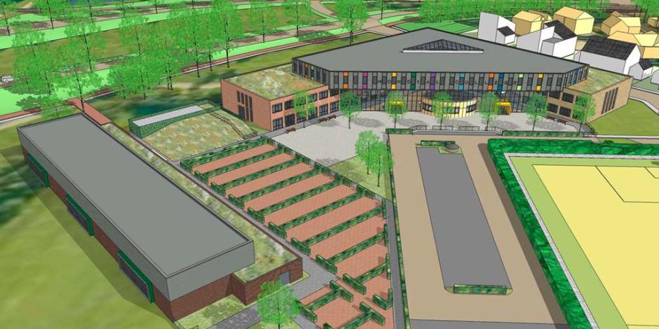 Mondial College Nijmegen, Illustratie Factor Architecten