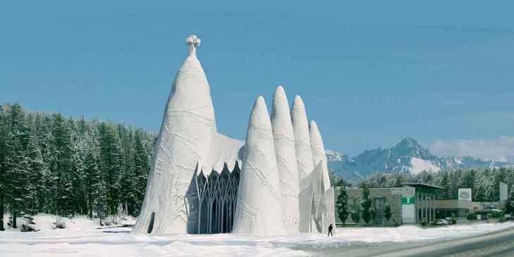 De Sagrada Familia nu ook in Finland