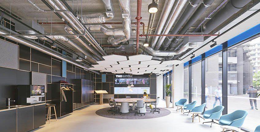 Nieuw hoofdkantoor TNO in Den Haag