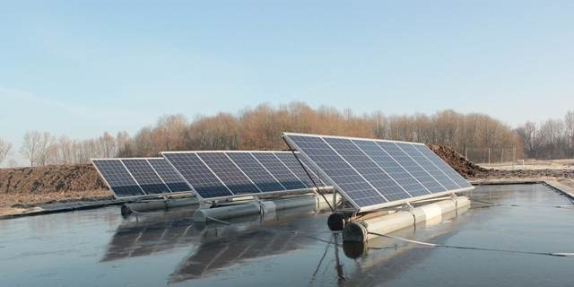 Maasvlakte krijgt drijvende zonnepanelen