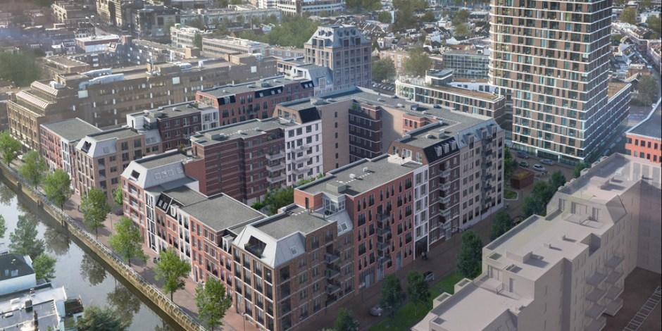 Twee grote daktuinen in Utrecht