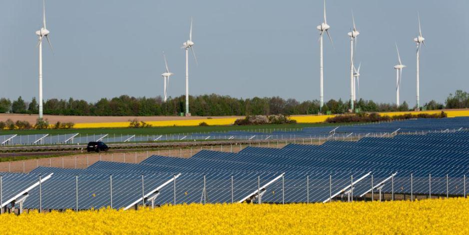 Collectief zonnepark langs A15