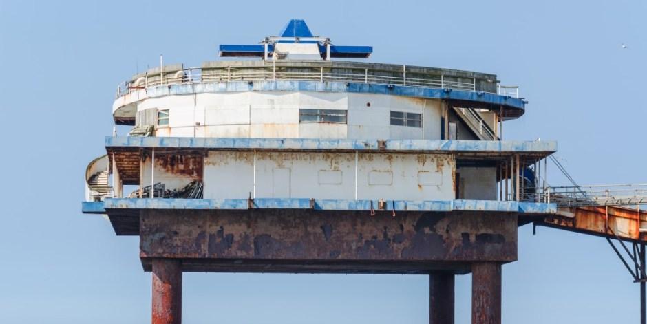 'Stalen eiland' van Scheveningse Pier wordt ontmanteld