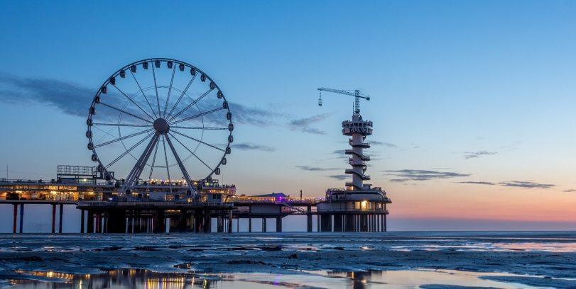 'Stalen eiland' van Scheveningse Pier wordt ontmanteld2