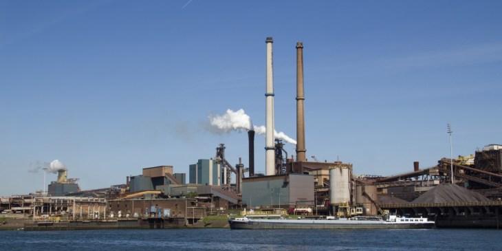 Tata Steel bouwt nieuwe opslaghal in IJmuiden