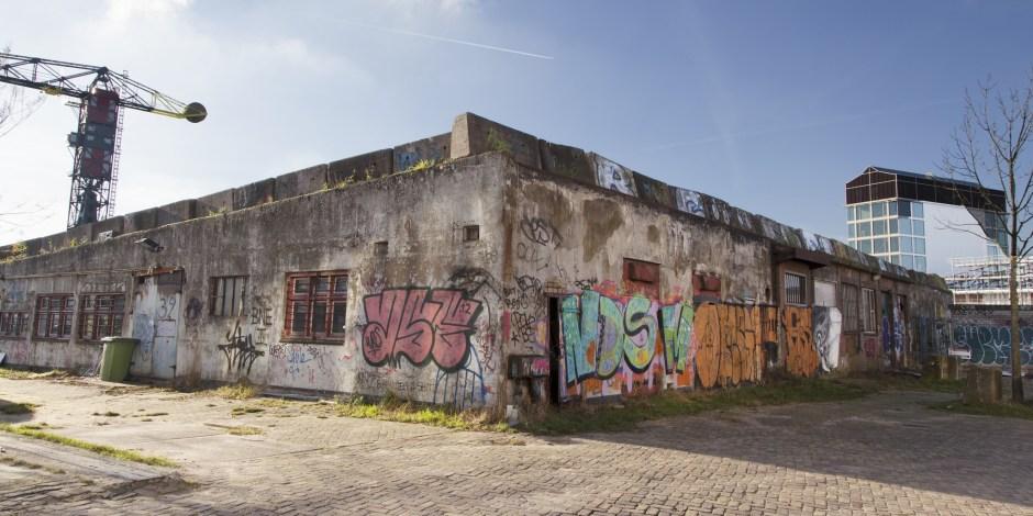 Woningbouw en groen op NDSM-werf in Amsterdam