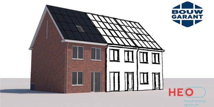 HEO-bouwsysteem verzekerbaar Energie Prestatie Garantie BouwGarant