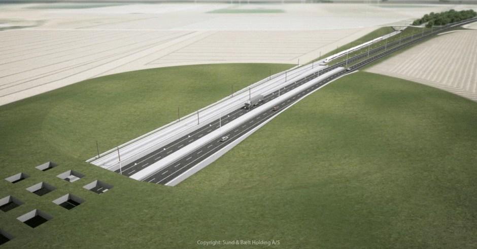 BIM-platform voor de Fehmarnbelt-tunnel 's werelds langste weg- en spoortunnel