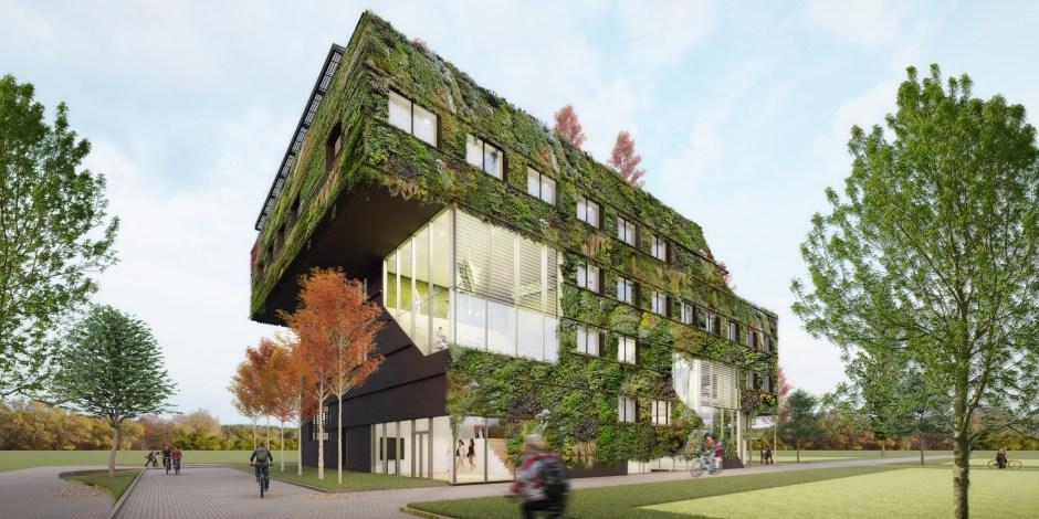 Groenste hogeschool van Nederland in Almere