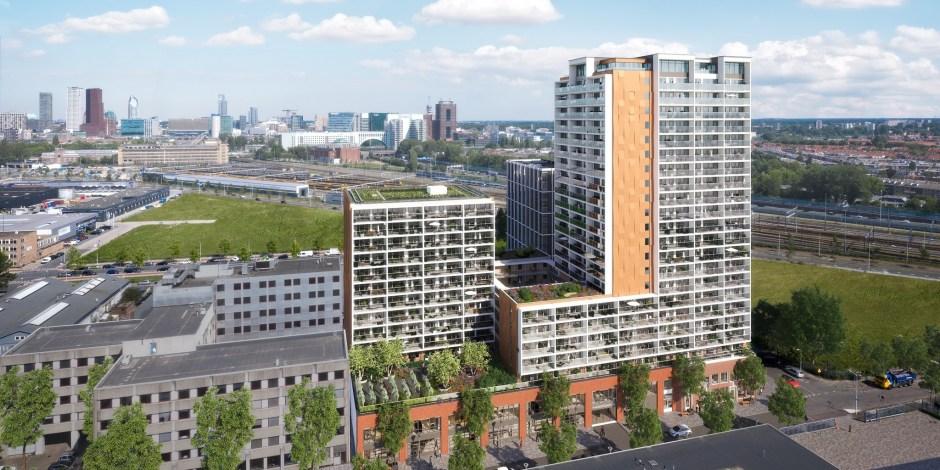Project - 300 sociale huurwoningen in de Binckhorst, Den Haag