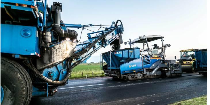 KWS wint onderhoudsproject wegen met 'schone lucht plan'