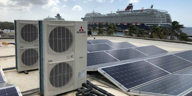 Klimaattechnische oplossingen voor Corendon Mangrove Beach Resort Curaçao