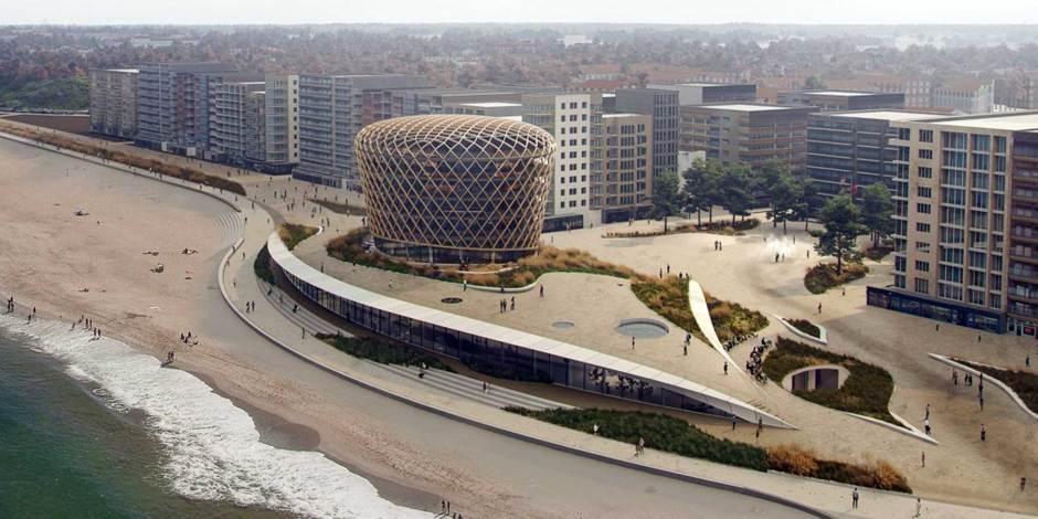 Bouwteam Nautilus presenteert casino gebouw als onderdeel duinen Middelkerke