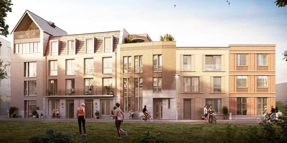 Gasthuiskwartier Den Bosch krijgt 330 nieuwe woningen