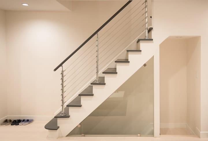 gepolierde betonnen trap voordelen advies inspiratie