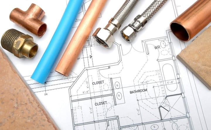 Badkamer renovatie tips stappelnplan afmetingen prijzen for Grondplan badkamer