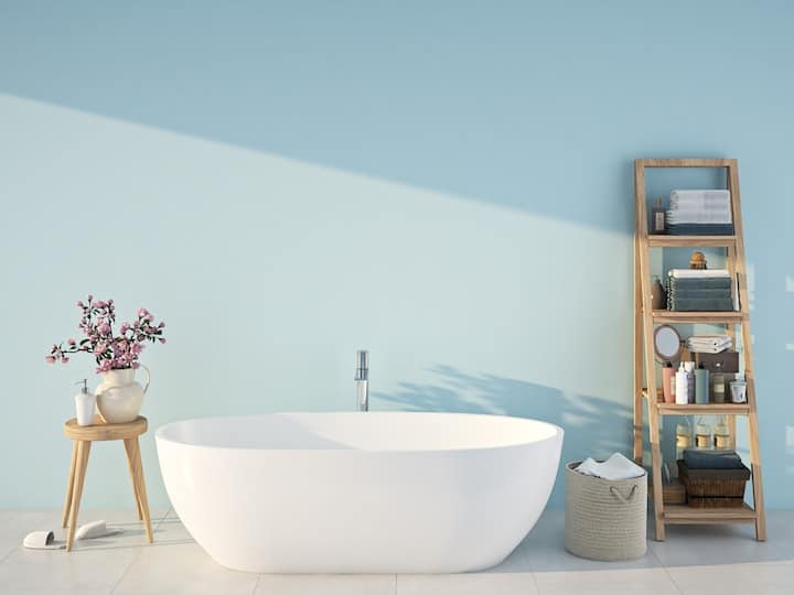 badkamer verven of behangen