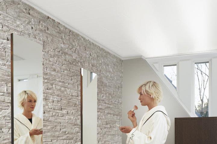 Laminaat Plafond Badkamer : Plafond badkamer: 5 soorten plafondbekleding voordelen advies & prijs