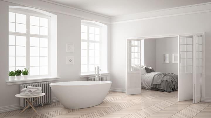 Massief Parket Badkamer : Parket of laminaat in de badkamer bouwplannen
