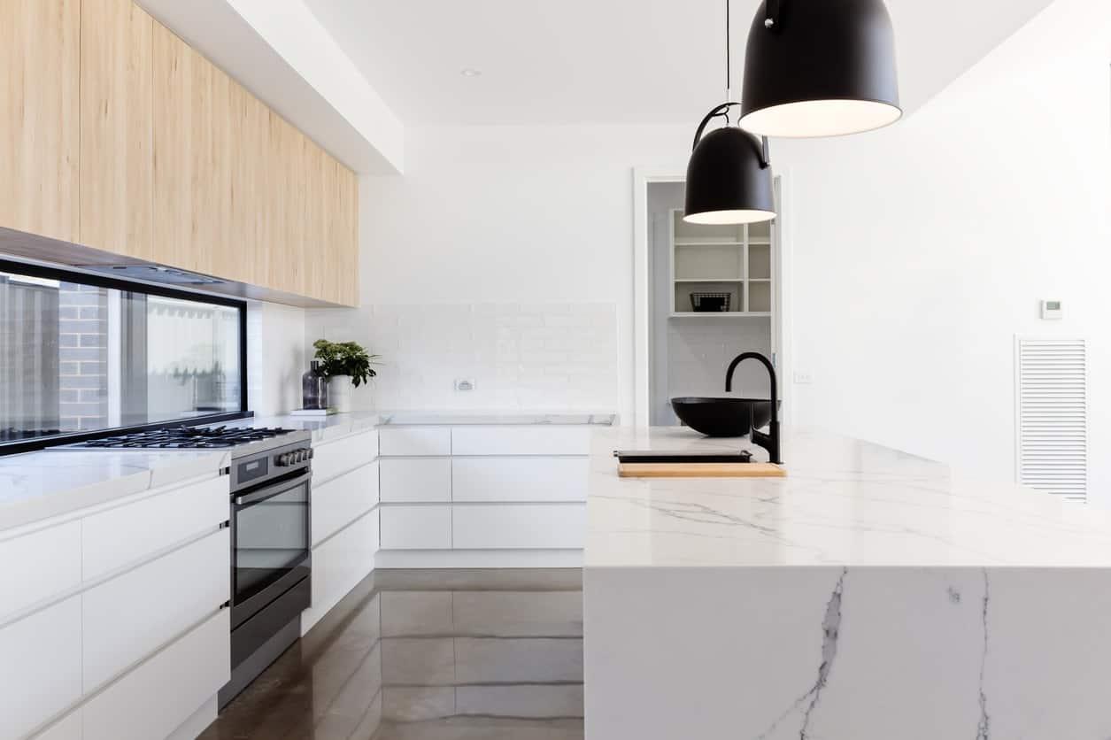 Moderne keukens inspiratie prijzen bouwplannen