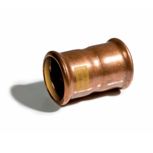 Rechte koppeling Roodkoper Gas